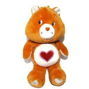 "Care Bears Tenderheart Large 23"" -25 Yr Anniv. GUC"